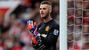 David De Gea has been included in Manchester United's Champions League squad