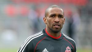 Toronto FC striker Jermain Defoe is training with former club Tottenham