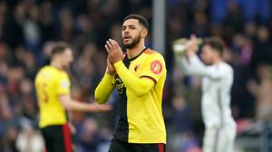 Andre Gray is back in the Watford squad for Saturday's clash with Chelsea (John Walton/PA)