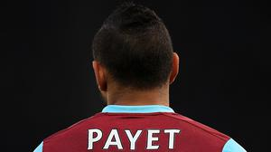 West Ham saw the back of Dimitri Payet in January