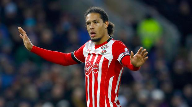 Liverpool apologised to Southampton over 'illegal approaches' for defender Virgil van Dijk
