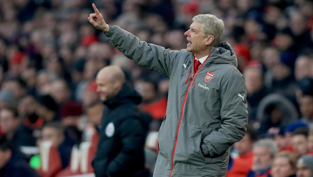 Arsene Wenger's Arsenal have a poor recent record against their main Premier League rivals