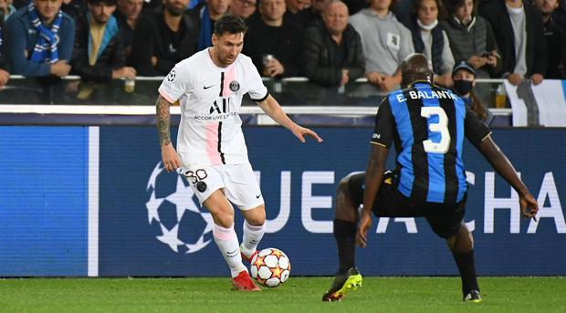 Brugge frustrate Messi and star-studded PSG - Independent.ie
