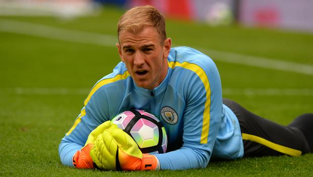 Joe Hart was loaned out by Manchester City in August