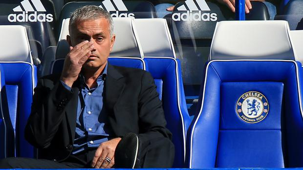 Jose Mourinho will be in the away dugout at Stamford Bridge on this occasion