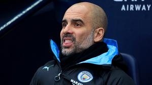 Pep Guardiola knows how high expectations in the modern game are (Mike Egerton/PA)