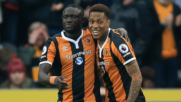 Oumar Niasse, left, was the star of the show