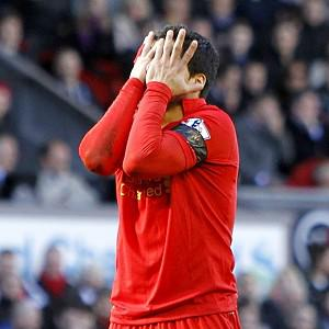 Luis Suarez once again hit the headlines following an incident against Chelsea at Anfield
