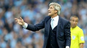 Manuel Pellegrini criticised his defence after West Ham claimed victory in Manchester