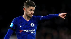 Frank Lampard believes Jorginho, pictured, still has a crucial role at Chelsea (Mike Egerton/PA)
