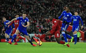 Jurgen Klopp felt his side should have had a penalty for the challenge on Naby Keita (Peter Byrne/PA)