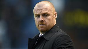 "Sean Dyche admits Burnley are facing a ""challenge"" (Clint Hughes/PA)"