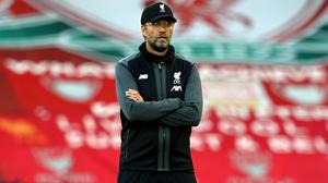 Liverpool manager Jurgen Klopp was delighted with the win (Shaun Botterill/NMC Pool)