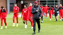 Jurgen Klopp is ready for the action to resume (Richard Sellers/PA)