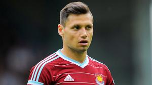 Mauro Zarate failed to nail down a starting place with West Ham