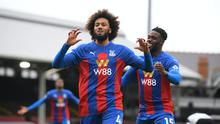 Jairo Riedewald scored Crystal Palace's first goal in a comfortable win at Fulham (Mike Hewitt/PA)