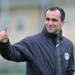 Roberto Martinez has been heavily linked with the vacancy at Everton