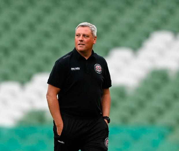 Bohemians manager Keith Long. Photo by Harry Murphy/Sportsfile