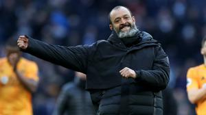 Nuno Espirito Santo is entering the last year of his contract at Wolves (Bradley Collyer/PA)
