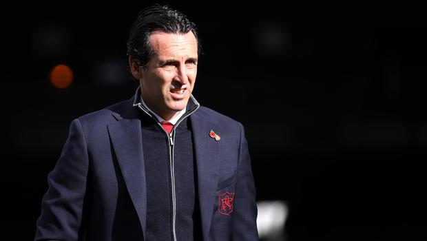 Arsenal boss Unai Emery says the club could be more active in the summer transfer market (Tim Goode/PA)