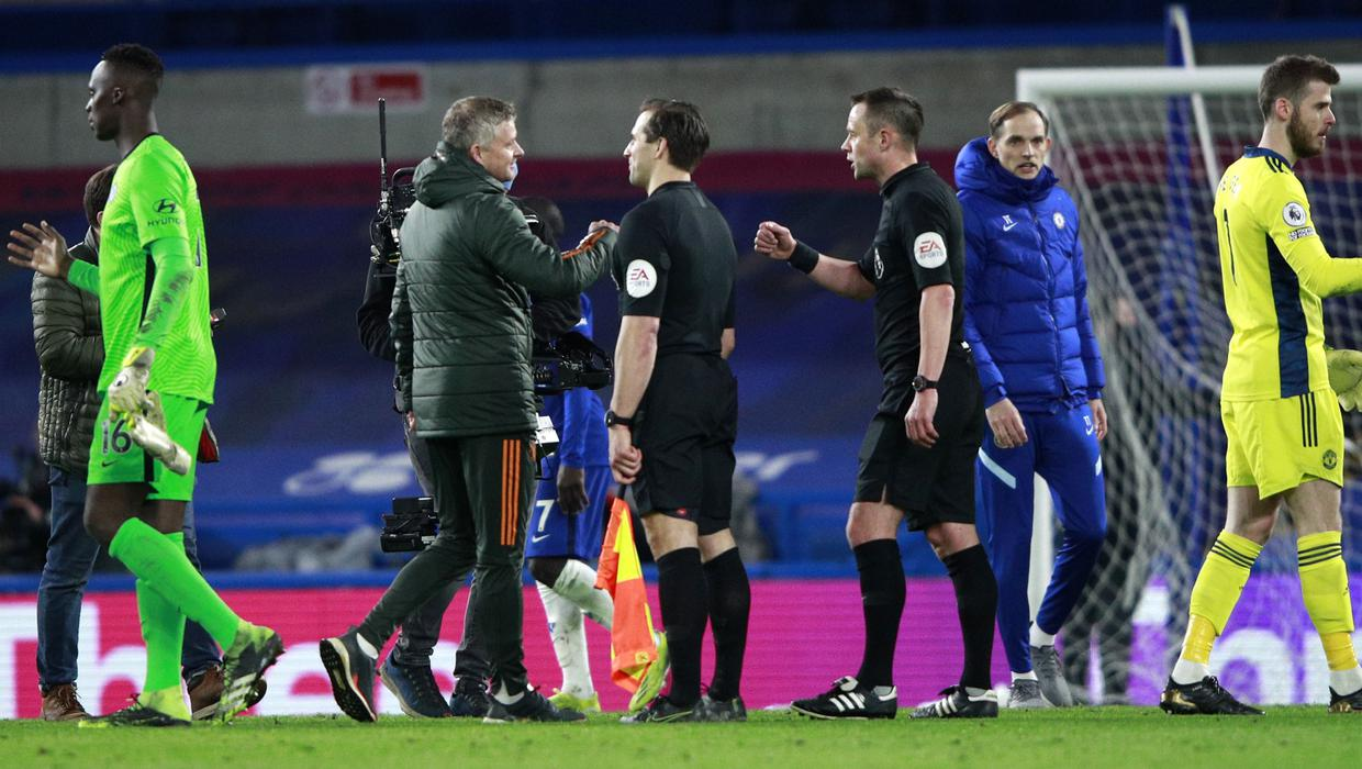 'I'm a bit concerned we don't get those penalties' - Solskjaer claims other managers influencing refs after Hudson-Odoi handball