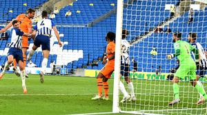 Andy Carroll (centre left) missed the best chance of a disappointing game (Glyn Kirk/NMC Pool/PA)