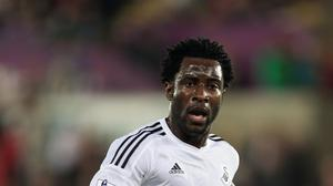 Wilfried Bony has been backed by Garry Monk
