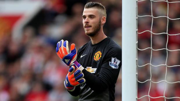 Madrid-born David de Gea is under contract with Manchester United until June 2016 and is pondering his future