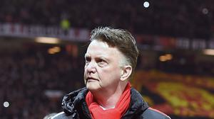Louis van Gaal feels he has the club's support