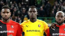 Frank Lampard wants Edouard Mendy, centre, to fight for his place at Chelsea (Andrew Milligan/PA)