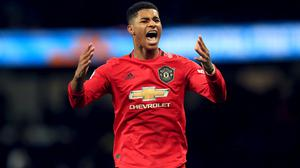 Marcus Rashford is continuing to urge the Government to reconsiderits decision not to extend the current food voucher scheme (Mike Egerton/PA)