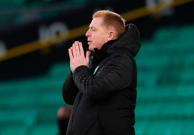 Neil Lennon. Photo: Andrew Milligan/PA Wire.