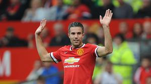 Manchester United hope Robin van Persie can soon get back to his prolific self