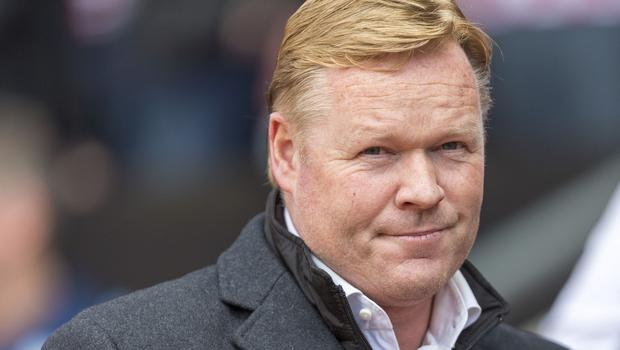 Southampton manager Ronald Koeman, pictured, has further strengthened his squad with the signing of Portugal defender Cedric Soares.