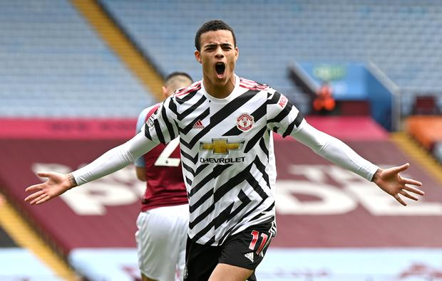 Mason Greenwood is reportedly making Manchester United have second thoughts about pursuing Jadon Sancho (Shaun Botterill/PA)