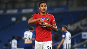 Manchester United's Mason Greenwood received praise from his manager Ole Gunnar Solskjaer (Mike Hewitt/NMC Pool/PA).