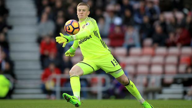 Jordan Pickford couldn't keep Manchester City out
