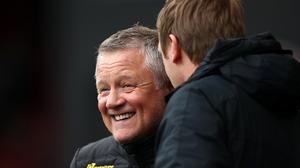 Chris Wilder could not fault his players (Tim Goode/PA)