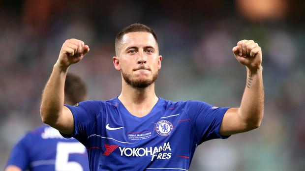 Eden Hazard was a star turn at Chelsea before his big money move to Real Madrid (Adam Davy/PA)