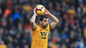 Jonny has made a permanent move from Atletico Madrid to Wolves (Mike Egerton/PA)
