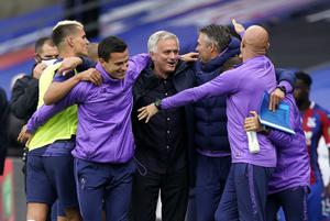 Jose Mourinho guided Tottenham to a sixth-place finish in the Premier League. (Will Oliver/PA)