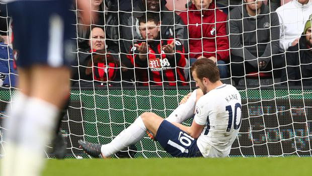 Kane spread some pre-World Cup fear when he suffered another injury against Bournemouth last March (John Walton/PA)