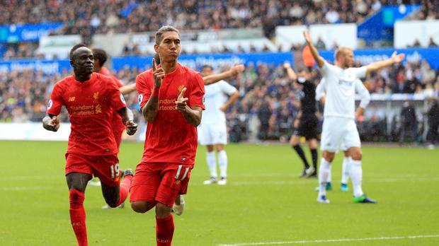 Roberto Firmino could return for Liverpool