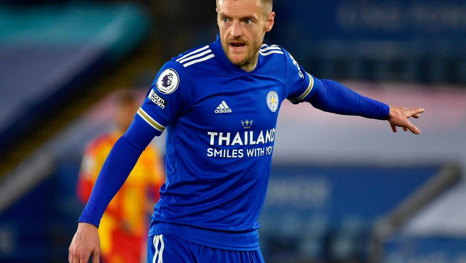 Jamie Vardy is about to earn the unique distinction of having played in every round of the FA Cup. Photo: Rui Vieira/PA