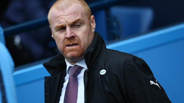 Sean Dyche's men found themselves on the end of an FA Cup mauling at Manchester City on Saturday (Dave Thompson/PA)