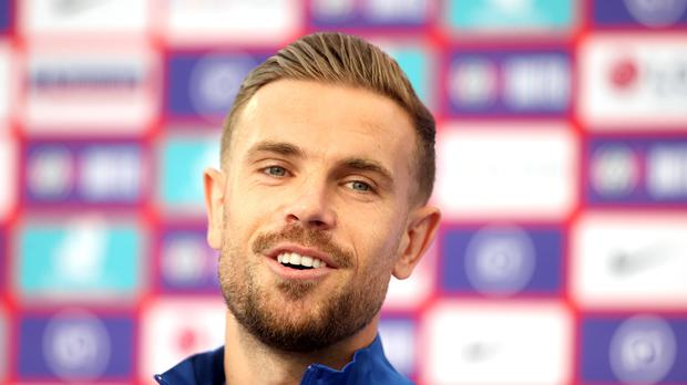 Jordan Henderson has called on England to be fearless against Germany (Carl Recine/PA)