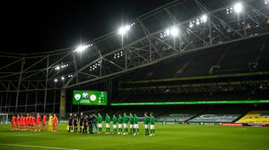 The Aviva Stadium is scheduled to host games in this summer's European championship. Image credit: Sportsfile.