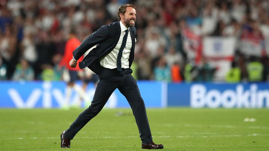 Gareth Southgate is revelling in his role (Nick Potts/PA)