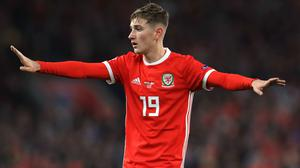 David Brooks says Wales will shut out the widespread support for Euro 2020 opponents Denmark (Mike Egerton/PA)