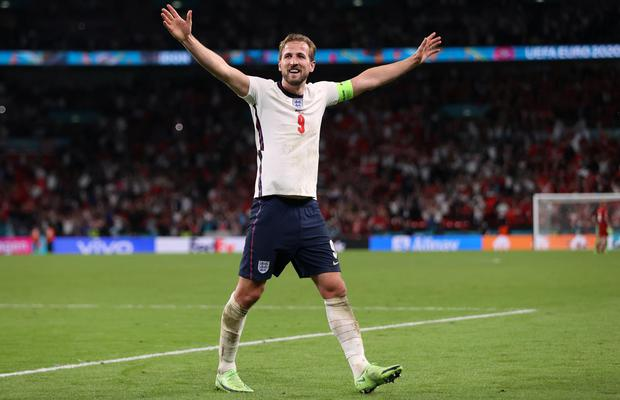 Streetwise: England captain Harry Kane celebrates after his team's win over Denmark. Photo: Carl Recine/Reuters